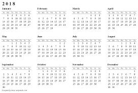 blank 2018 calendar 2018 calendar pdf 2018 calendar printable