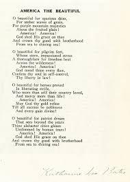 "America the Beautiful "" 1893"