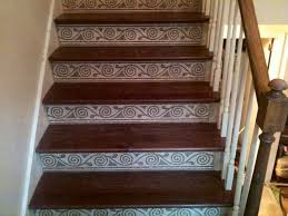 hoover tile stair risers american traditional staircase