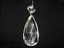 crystal teardrop