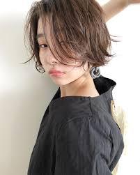 ショートヘアの種類名前流行り大人女子に似合うショートの髪型まる