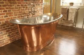 chadder copper bath with nickel fittings