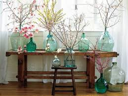 15 floral arrangements with flowering branches spring home
