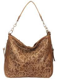 laser cut hobo fashion concealed carry purse faux leather hobo bag lanvender
