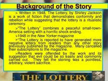 essays on the lottery by shirley jackson walden essay contest essays on the lottery by shirley jackson