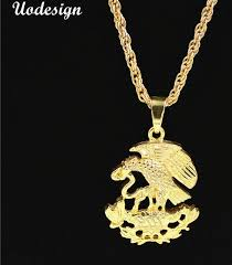 whole hip hop iced out bling eagle eat snake pendants necklaces gold color necklace for men jewelry diamond pendant love necklace from thankjay