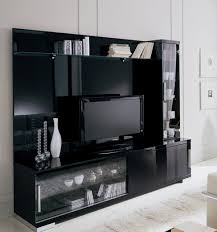 Awesome ... Black Wall Unit. ; 