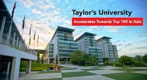 Taylor's University Leaps Forward Towards Top 100 in Asia | EduAdvisor