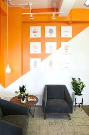 office space colors. Office Wall Paint Colors Best Orange Ideas On Space Design Commercial And R