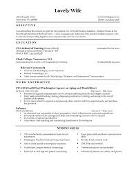 Cna Resume Templates Mesmerizing Cna Resume Sample With Experience Resume Ideas Pro