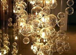 glass ball chandelier glass ball for modern pleasing hanging glass chandelier hanging glass