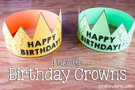 Print it onto brightly colored card stock paper, and cut it out. Birthday Crown Certificate Chart Prekinders