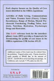 Handy Charting Guidelines For Nursing Facilities Paperback