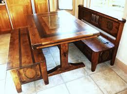 Bench Style Kitchen Tables Bench Corner Bench Table With Storage Regarding Pleasant Corner