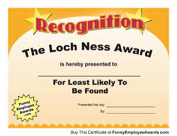 Office Award Goofy Office Awards Under Fontanacountryinn Com