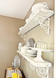 free home inspiration design charming shabby chic shelves of diy shelving with those pretty brackets