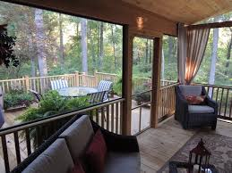 screened in deck. Screened In Porch, Deck Traditional-porch