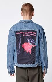 black sabbath denim trucker jacket