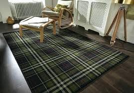 red buffalo plaid rug rag rugs outdoor area runner tan tartan hard wearing quality checd soft
