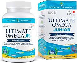 Nordic Naturals <b>Ultimate Omega Junior</b>, 500mg, 90 Chewable Soft ...