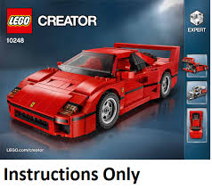 Find many great new & used options and get the best deals for lego ferrari f40 creator (6099998) at the best online prices at ebay! Lego Ferrari F40 Instructions Ferrari Car
