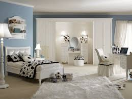 white bedroom furniture for girls. Cool Bedroom Furniture For Teenagers : Classic Girls Room Decoration With Single White Bed Combine