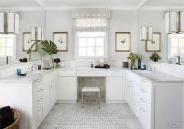 Traditional White Bathrooms Traditional White Bathroom With Carrara Marble Vanity Tops Marble