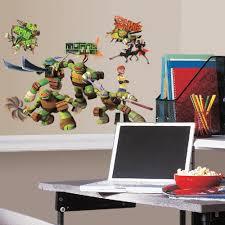 Peel And Stick Wall Decor Roommates Rmk2246scs Teenage Mutant Ninja Turtles Peel And Stick