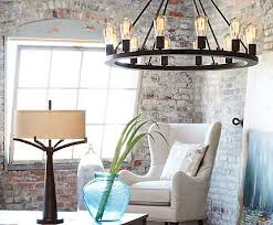large room lighting. an industrial loft brightened by a large chandelier with edison style bulbs room lighting d