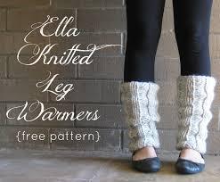 Free Patterns For Leg Warmers Interesting Ideas