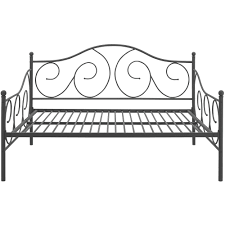 black full size daybed. Wonderful Size DHP Victoria Metal Daybed Finial Design Full Size Multiple Colors   Walmartcom For Black Size A