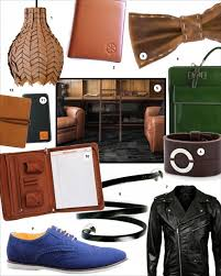 3rd anniversary gifts for men leather