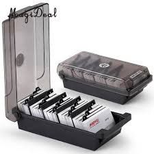 Large Capacity Business Card Holder Box Business Card File Card