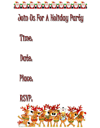printable christmas invitations free printable christmas invitations happy holidays
