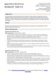 Sample Of Electrician Resumes Apprentice Electrician Resume Samples Qwikresume