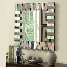 Bedroom Design  Wonderful Powder Room Mirrors Silver Framed Modern Mirrors For Living Room
