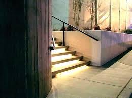 deck stair lighting ideas. Deck Step Lighting Stair Lights Outdoor Wall Concrete . Ideas