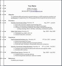 Resume Templates For No Work Experience Mesmerizing Resume Format With Work Experience And Experience A Resume Template