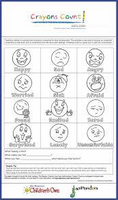 Feelings Vocabulary Chart