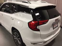 2018 gmc white terrain. brilliant terrain summit white 2018 gmc terrain left rear corner photo in oshawa on and gmc white terrain