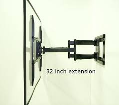 tv wall mount for corner corner mount full motion with inch long extension corner tv wall