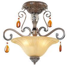 bedroom vintage style crystal glass shade art deco ceiling lights
