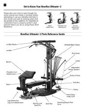 Bowflex Xtl Users Manual Bowflex Ultimate 2 Support
