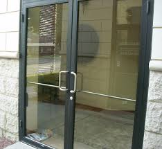 custom glass and office fronts and doors