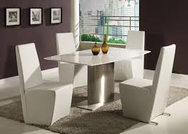 White Marble Dining Table Dining Room Furniture High Resolution White Contemporary Dining Table Modern White