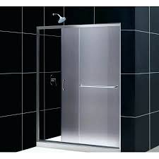 fr chrome infinity z w x h frosted glass sliding shower doors interior decorator salary south africa