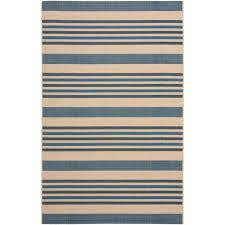 safavieh courtyard rectangular indoor outdoor woven area rug common 5 x 8