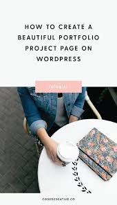 Design And Make Projects How To Create A Beautiful Portfolio Project Page On Wordpress