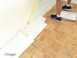inspiring painting hardwood floors paint wood floors like pro painting wood floors with annie sloan chalk