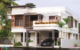 Residential House Design Styles 25 Lakhs Contemporary Style Residence Kerala Home